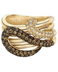Le Vian Chocolatier 14k 1.15 Ct. Tw. Diamond Ring - Metallic