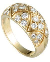 Van Cleef & Arpels Vintage - Van Cleef & Arpels 18k 0.90 Ct. Tw. Diamond Ring - Lyst