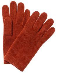 Portolano Cashmere Gloves - Red