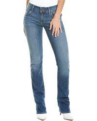 Hudson Jeans Beth Baby Wraith Boot Cut Jean - Blue