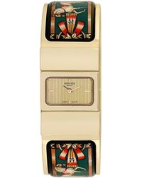 Hermès Hermes Women's Loquet Bangle Watch - Multicolour