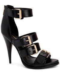 BCBGMAXAZRIA - Gloria Leather Sandal - Lyst