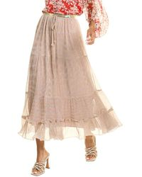 Traffic People Jasmine Skirt - Natural