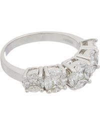 Effy Fine Jewellery 14k 1.24 Ct. Tw. Diamond Ring - Metallic
