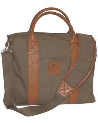 Buxton Expedition Ii Huntington Gear 18in Laptop Briefcase - Green