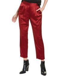Vince Camuto Slim Leg Pant - Red