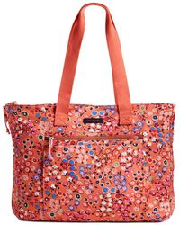 Vera Bradley Lighten Up Expandable Tote - Red