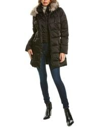 Laundry by Shelli Segal Belted Puffer Jacket - Black