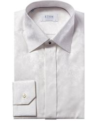 Eton Contemporary Fit Dress Shirt - White