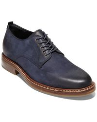 Cole Haan Frankland Grand Leather Oxford - Blue