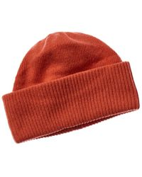 Portolano Cashmere Hat - Red