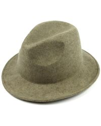 Michael Stars - No Strings Attached Wool-blend Fedora - Lyst