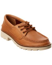 Sperry Top-Sider A/o Lug Leather Boat Shoe - Brown
