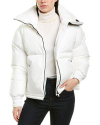 Moncler Inde Quilted Down Jacket - White