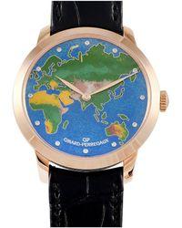 Girard-Perregaux Girard Perregaux Men's Diamond Watch - Multicolour