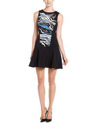 Tibi - Baja Black Multicolor Embroidered Dress - Lyst