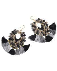 Shiraleah Amy Tassel Earrings - Multicolour