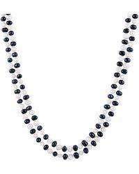 Splendid - 5-6mm Freshwater Pearl Endless Necklace - Lyst