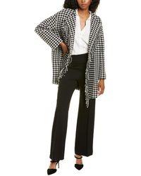 Marella Wool-blend Coat - Black