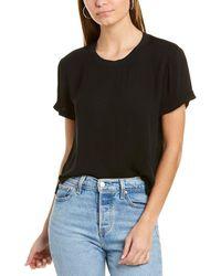 Alice + Olivia Jann T-shirt - Black