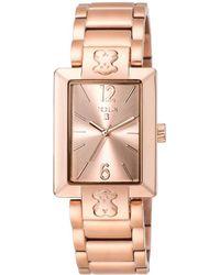 Tous - Women's Plate Sq Watch - Lyst