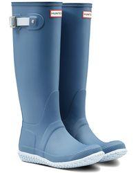 HUNTER Original Tall Boot - Blue