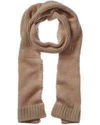 Portolano Wool & Cashmere-blend Scarf - Natural