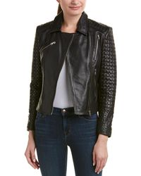 Doma Leather - Lady Studded Leather Jacket - Lyst