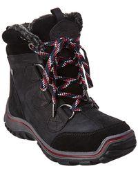 Pajar Senora Waterproof Suede Boot - Black