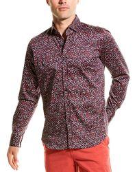 Robert Graham Santana Woven Shirt - Red