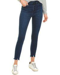 J Brand Lillie Egotism High-rise Crop Skinny Leg Jean - Blue