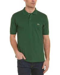 Lacoste Piqué Classic Fit Polo Shirt - Green