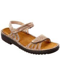 Naot - Anika Leather Sandal - Lyst