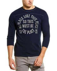 Deus Ex Machina Place Perception T-shirt - Blue