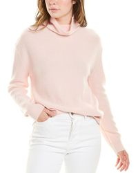 Magaschoni Funnel Neck Cashmere Jumper - Pink