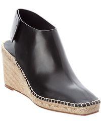 Céline - Espadrille Frame Leather Toe Bootie - Lyst
