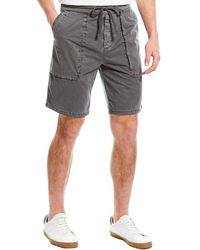 James Perse Patch Pocket Short - Grey