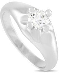 BVLGARI Bulgari 18k 0.40 Ct. Tw. Diamond Engagement Ring - Metallic