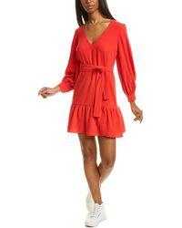 Amanda Uprichard Selene Mini Dress - Red