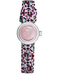 Dior Dior La D De Dior Diamond Watch - Multicolor