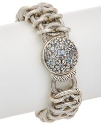 Stephen Dweck - Core Silver Rainbow White Moonstone Bracelet - Lyst