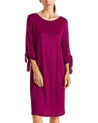 Hanro Aba 3/4-sleeve Gown - Multicolour