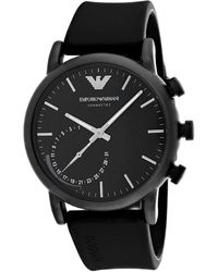 Armani Connected Watch - Black