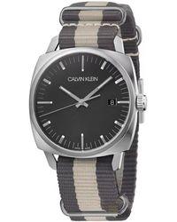 Calvin Klein Fraternity Watch - Metallic
