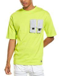 American Stitch Double Pocket T-shirt - Green