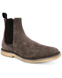 AllSaints Allsaints Rhett Suede Chelsea Boot - Grey
