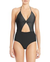 6 Shore Road By Pooja One-piece Divine Swimsuit - Black