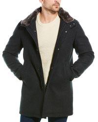 Herno Wool-blend Coat - Grey
