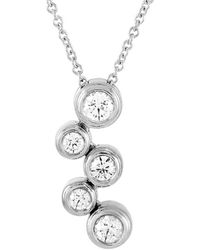Heritage Tiffany & Co. Tiffany & Co. Platinum 0.40 Ct. Tw. Diamond Pendant Necklace - Metallic