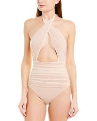 Lovers + Friends See Me One-piece - Brown